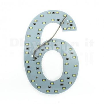 Numero luminoso a Led - 6