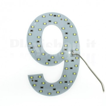 Numero luminoso a Led - 9