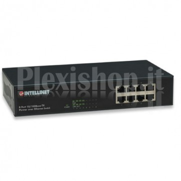 Switch Desktop Fast Ethernet PoE 8 Porte Soho