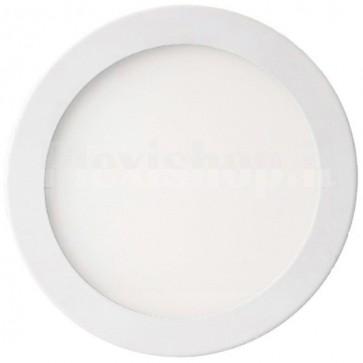 Pannello Luminoso a LED Rotondo Diametro 240mm 18W Bianco Neutro A+