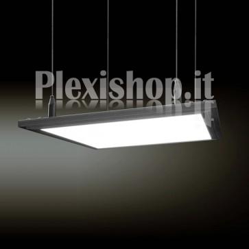 Pannello Led Quadrato 300 x 300 mm 70W - Bianco Caldo