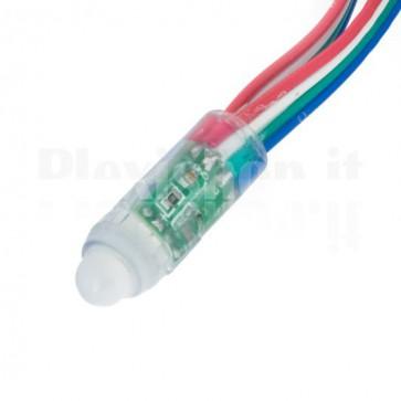 Pixel led DMX RGB - 50 led