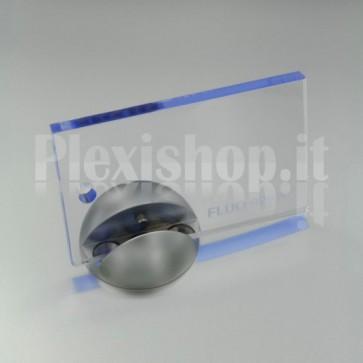 Plexiglass 92520 Viola Azzurro Fluorescente