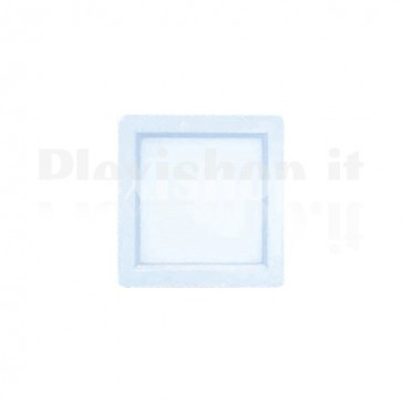 Pannello Faretto Led Quadrato 200 x 200 mm 15W Bianco - Bianco Caldo