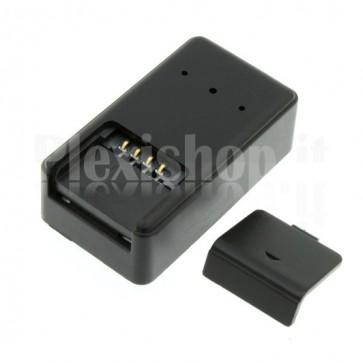 Posizionatore GPS con microfono ambientale, comunica mediante GSM / GPRS