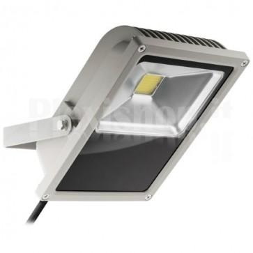 Proiettore LED da Esterno IP65 50W 3800 lm Bianco Freddo, Classe A