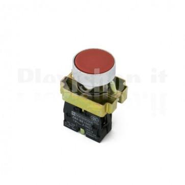 Pulsante industriale Rosso 1xNC
