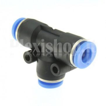 Raccordo ad innesto rapido tubo/tubo a T diametro 10mm