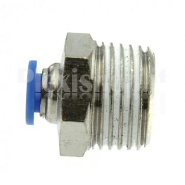 """Raccordo Innesto rapido pneumatico per tubo 6 mm filetto 1/2"""""""