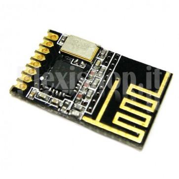 Ricetrasmettitore wireless NRF24L01 miniaturizzato