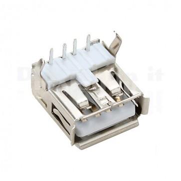 Connettore USB tipo A Femmina - 90°