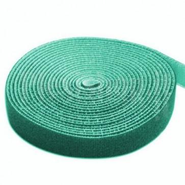 Rotolo di Velcro Fermacavi Lunghezza 4m Larghezza 16mm Verde