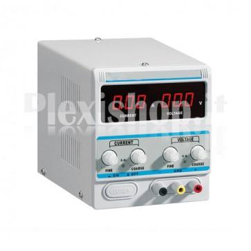 Alimentatore Variabile Digitale 0-15V/0-5A