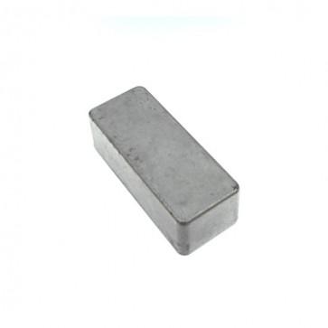 Scatola alluminio pedaliera 92.5x38.5x31