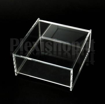 Scatola in plexiglass 14,5x15x7 cm
