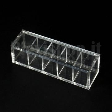 Scatola in plexiglass 12x3,5x3,5 cm