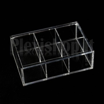 Scatola in plexiglass 15x10x5 cm