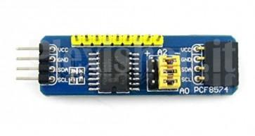 Scheda espansione I/O PCF8574