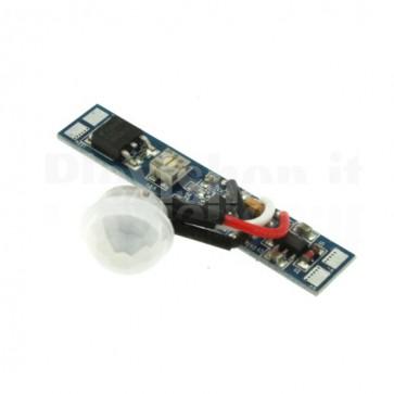 Sensore di movimento PIR per strisce LED, 8A