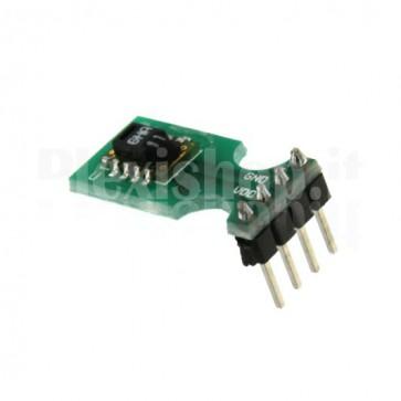 Modulo con sensore digitale di temperatura e umidità SHT11