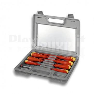 Set cacciaviti 8 pezzi in valigetta