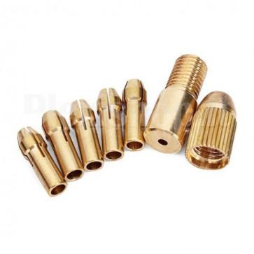 Set mandrini per trapano, per punte da 0.5 a 3mm