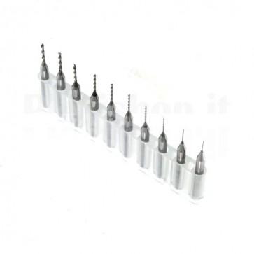 Set micro punte per PCB da 0.3 a 1.2 mm