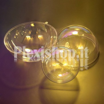 Sfere in Plexiglass Apribili Ø100mm