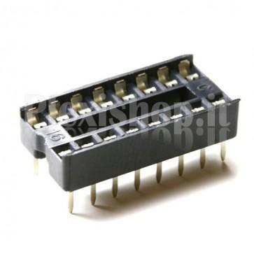 Zoccolo per circuito integrato 16 Pin