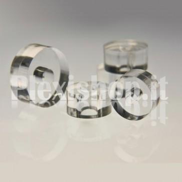 5 Spessori 8 mm - diam. 10mm