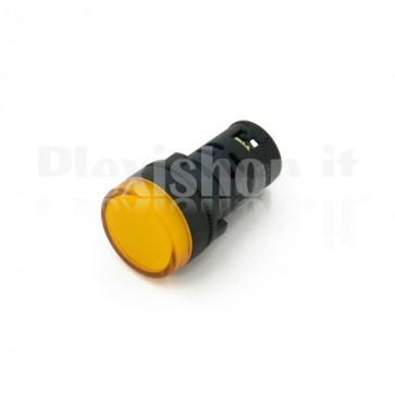 Spia luminosa da pannello Gialla AD16-22DS23