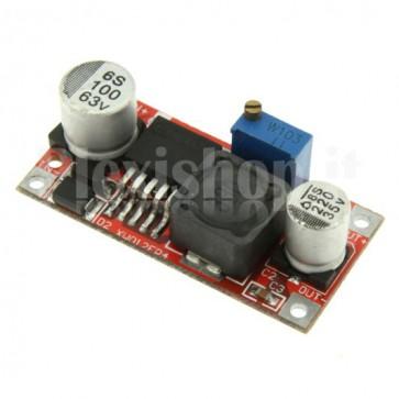 Stabilizzatore switching DC-DC regolabile in tensione, 3-35Vcc 3A