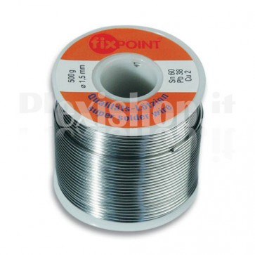 Stagno in rotolo per Saldatura 1 mm 250gr
