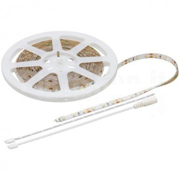 Striscia LED Flessibile IP44 300LED SMD Bianco Freddo Classe B