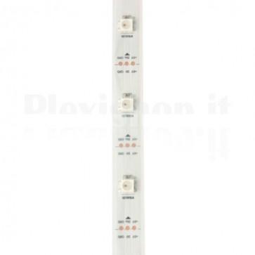 Striscia led indirizzabile WS2812B RGB 30 led metro - 5mt
