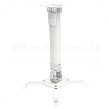 Supporto a Soffitto per Proiettori Estensione 380-580 mm Silver