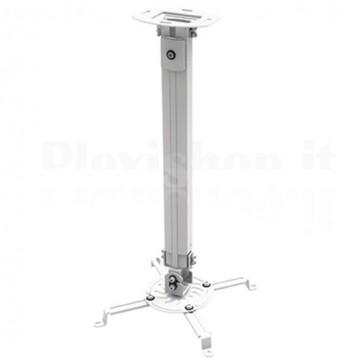 Supporto a Soffitto per Proiettori Estensione 545-900 mm Silver