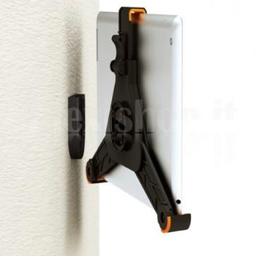 Supporto da muro per iPad2/3/4 e Tablet in plastica