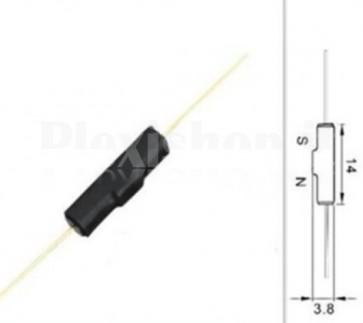 Switch Reed GPS-14B normalmente chiuso, 4x14mm