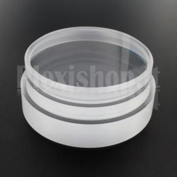 Tappo in plexiglass o-ring Ø 80(e)/74(i) mm