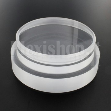Tappo in plexiglass o-ring Ø 90(e)/80(i) mm