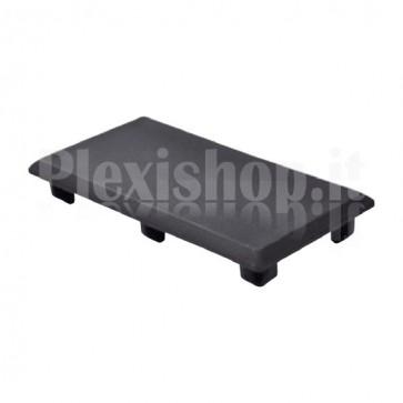 Tappo nero 45x90 mm
