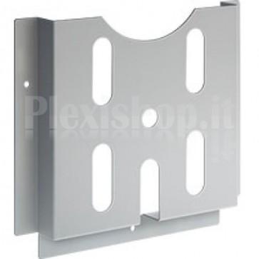 Tasca Porta-Documenti in Plastica Grigio