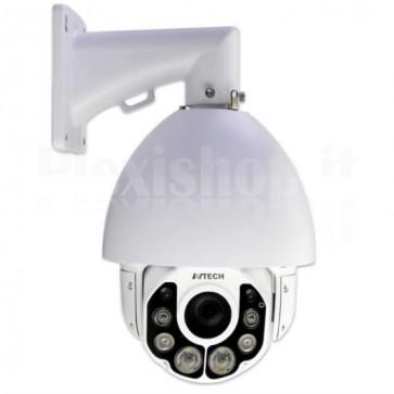 Telecamera da Parete IP FullHD 2MP 20X IR Speed Dome WDR IP66 AVM592