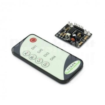 Telecomando con decodificatore IR