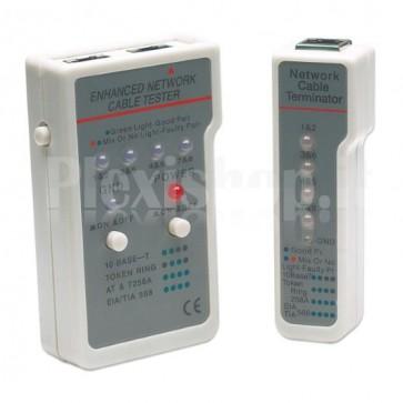 Tester Multifunzione per Cavi di Rete RJ45 -RJ11