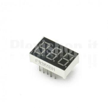Triplo Display LED Mini