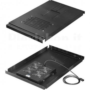 Unità Ventole a Soffitto per Server Rack Professional 800 x 1030 mm