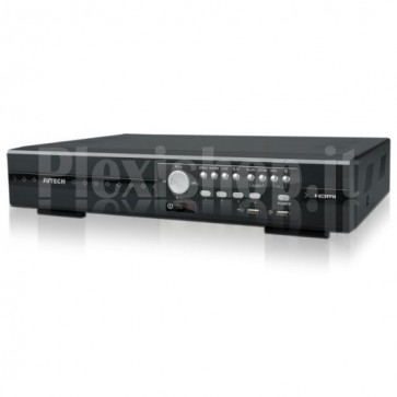 Videoregistratore 4 Canali Real Time HD CCTV DVR Push Video, AVZ404