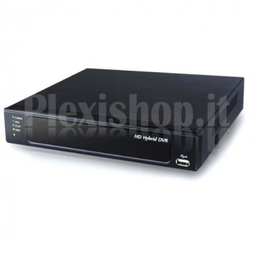 VideoRegistratore Digitale DVR CCTV 9 canali AHD Ibrido 720p